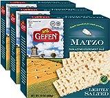 Gefen, Lightly Salted Matzo, 10.5oz (3 Pack) Traditional Style Matzo