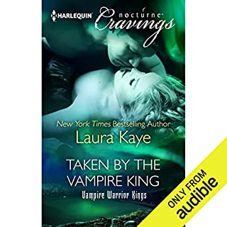 Taken by the Vampire King audiobook cover art