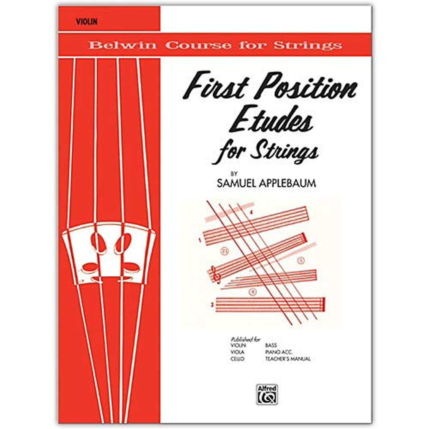 First Position Etudes for Strings Violin Pack of 3