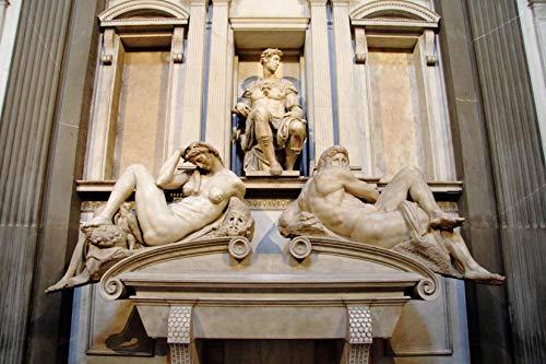A Michelangelo Buonarroti Up Florenz Neue Sakristei Grabmal Giuliano Iiwooden Jigsaw Puzzles 1000 Piece Toy Adult DIY Challenge Décor