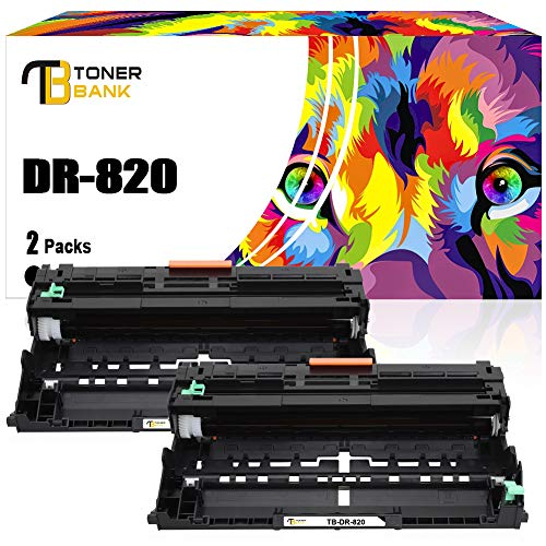 Toner Bank Compatible Drum Unit Replacement for Brother DR820 DR-890 for Brother HL-L6200DW MFC-L5850DW MFCL5900DW MFCL6700DW MFCL5800DW HLL6200DW HLL5200DW HLL5100DN HLL6300DW MFCl5900W Drum Unit 2PK