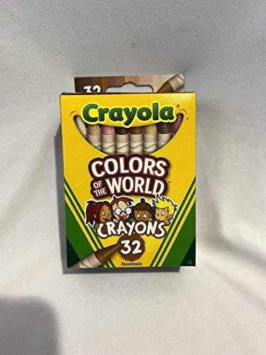 Crayola Multicultural Crayons - 32 Count
