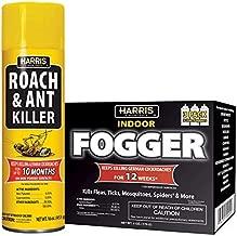 Harris Roach Killer, 3 Pack Fogger and 16oz Aerosol Combo Value Pack