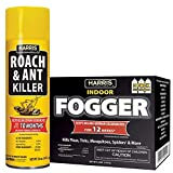 Harris Roach Killer, 3 Pack Fogger and 16oz Aerosol Combo Value Pack