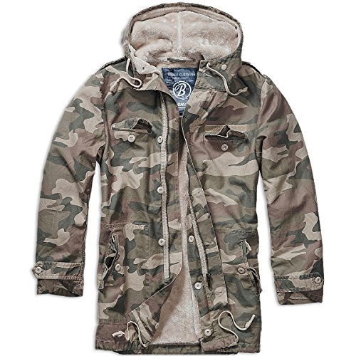 Brandit BW Parka Winterjacke Light Woodland XXL