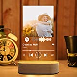 [CUSTOMIZED MUSIC BOARD] Just choose your photo and song name-artist name, and we can help you customize your music board. [HAND-DESIGNED] Our works are hand-designed to create unique works for you. The Spotify Music Board is an ideal solution for gi...