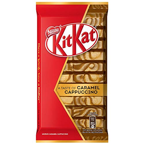 KitKat A Taste Of Caramel Cappuccino, 112 g
