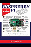 RASPBERRY PI: A Beginners Concise Guide to Raspberry Pi Setup, Learning Programming and Developing Innovative Projects Front Cover