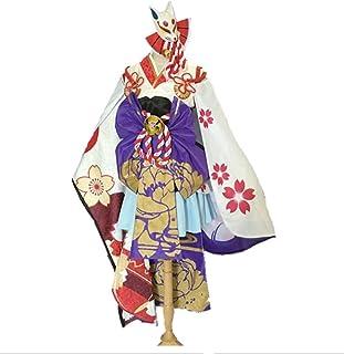 【Qumaolindedianpu】陰陽師 雪女 覚醒後 月見之桜 コスプレ衣装 コスチューム