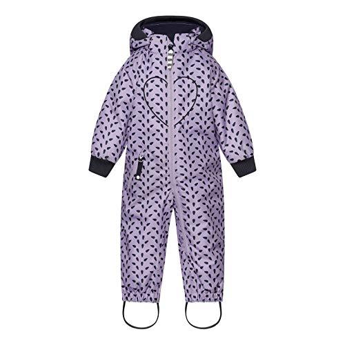 Racoon Baby-Girls Lydia Drop Winter Suit Snowsuit, Mini Leafs, 86