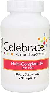 Celebrate Multi-Complete with Iron Capsule 270 Count