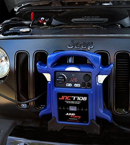 Clore Automotive Jump-N-Carry JNC770B 1700 Peak Amp Premium 12 Volt Jump Starter - Blue w/Cover