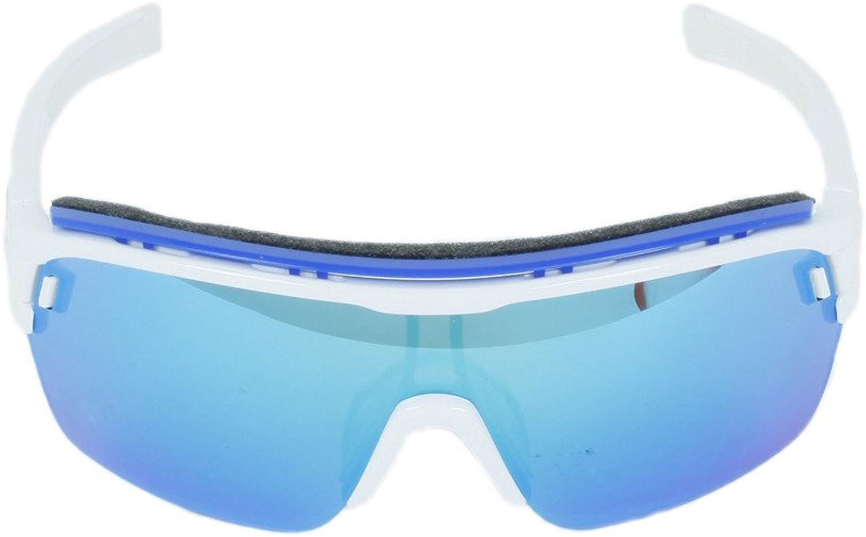 ZONYK ad05 Brille Adidas Pro AERO Mirror Blau 1600 Shiny