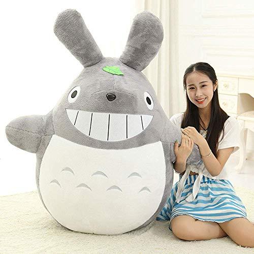 L&WB Varios tamaños, Grande Lindo Totoro Felpa Jumbo Gigante Grande Animales Peluche muñeca Suave Almohada cojín cumpleaños Regalo Vacaciones,B,20cm