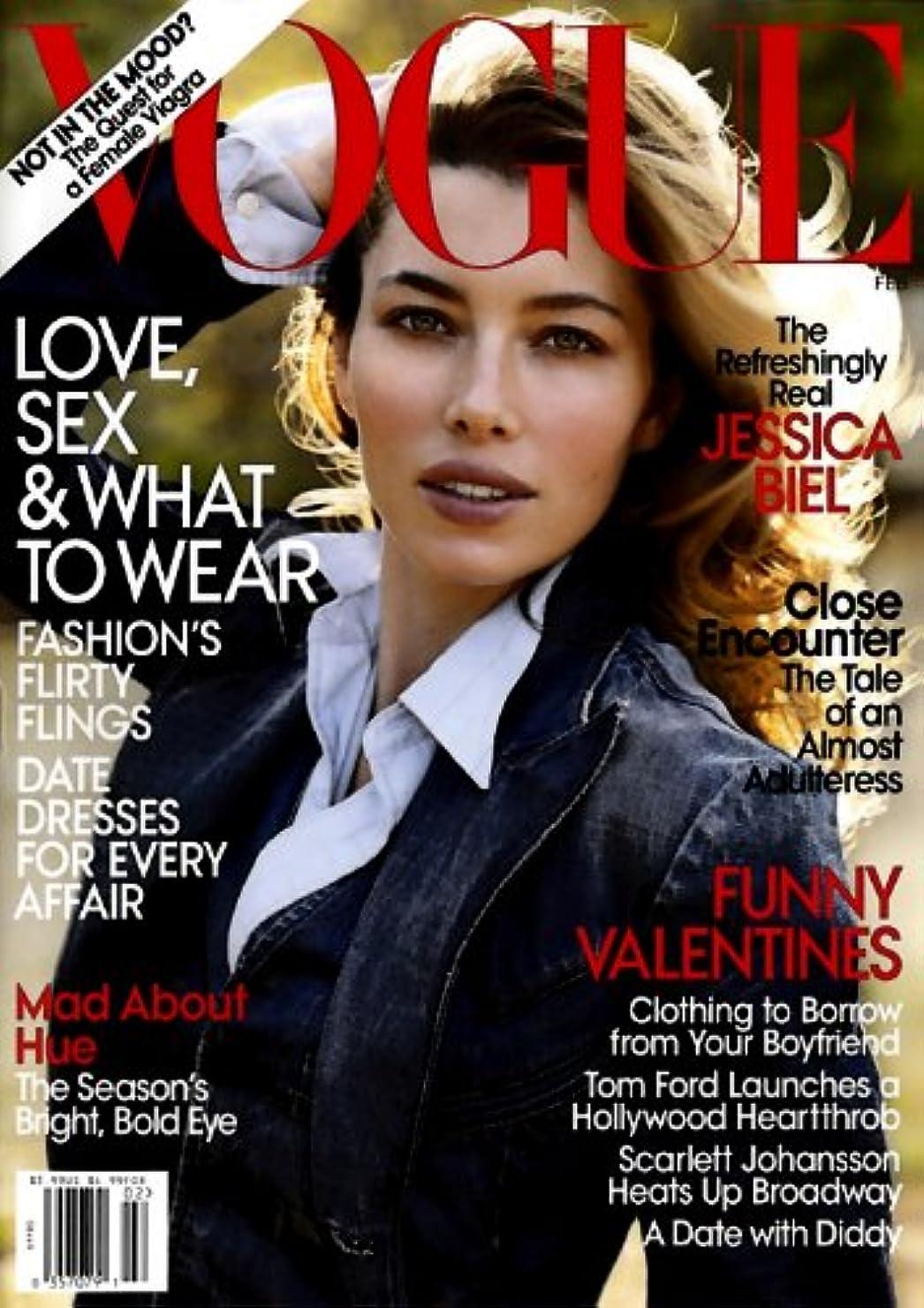 リンケージ不安定虚弱Vogue [US] February 2010 (単号)
