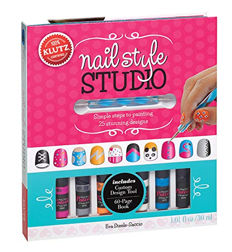 Product Image of the Klutz Nail Style Studio Book Kit