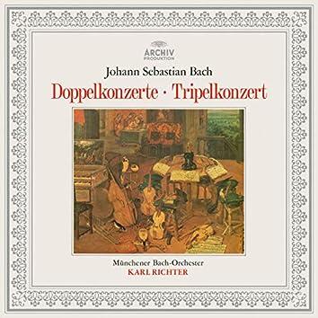 Bach: Concerto BWV 1055R, Double Concertos BWV 1043, 1060, 1060R, Triple Concerto BWV 1064R