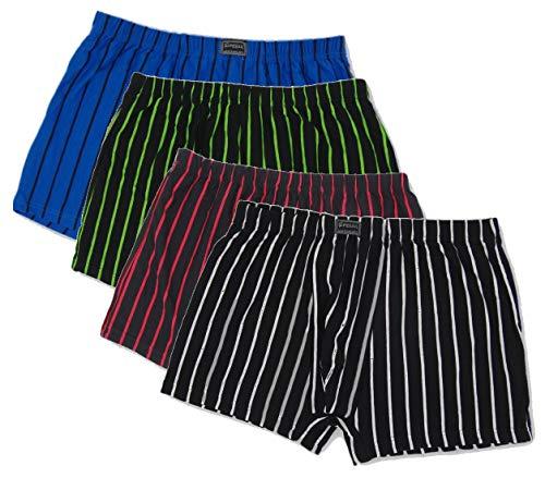 Moderei große Größe Pesail Herren Boxershorts Premium-Qualität in Multi Farben(4XL - 7XL) (5, 5XL)