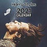 Harry Styles 2021 Calendar: EXCLUSIVE 2 Years Harry Styles Calendar 2021-2023 (8.5x8.5 Inches Large Size) 24 Months Calendar