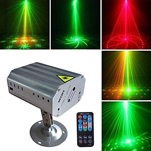 Bühnenbeleuchtung Sprachsteuerung Automatik-Funktion Fernbedienung Haushalt Farbe Licht Ktv Raum Raum Bunten Licht-Dekoration Rotating Bühnenbeleuchtung ANGANG
