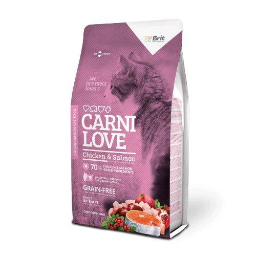 Brit Katzenfutter Carnilove Cat Chicken & Salmon, 1er Pack (1 x 7 kg)