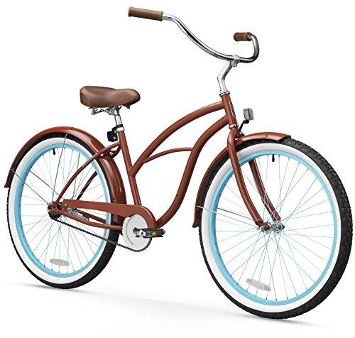 sixthreezero Women's Beach Cruiser Bicycle, 26' Wheels/17 Frame,...