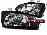 Faros delanteros Honda CIVIC 09.91-08.95 2D/3D negro
