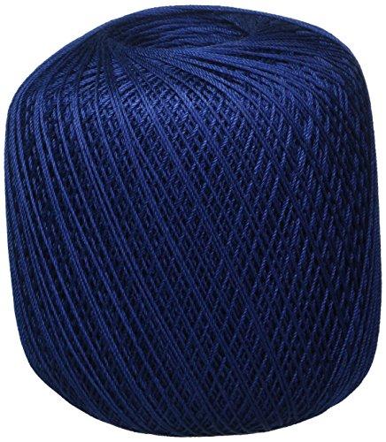 Bulk Buy: Aunt Lydia's Crochet Cotton Classic Crochet Thread Size 10 (3-Pack) Navy 154-486