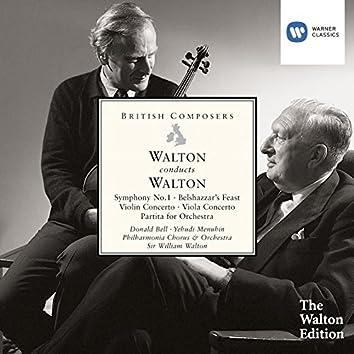 Walton Conducts Walton: Symphony No. 1, Belshazzar's Feast Etc