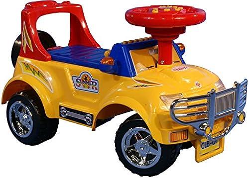 ventas en línea de venta Coche Correpasillos Infantil Auto Auto Auto de Juguete para Niños - Arti 3111 Big J - amarillo  Tienda 2018