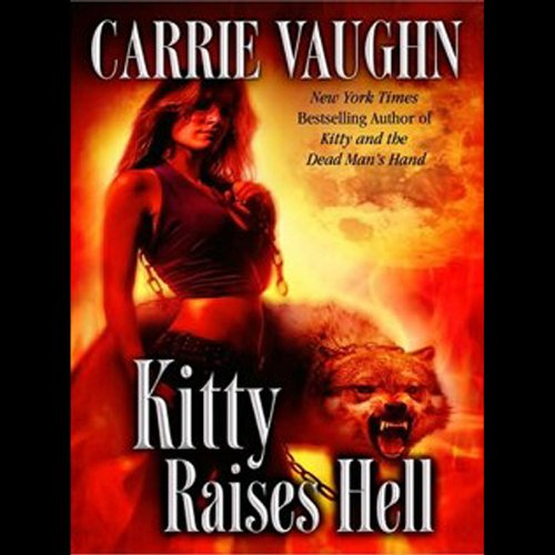 Kitty Raises Hell audiobook cover art
