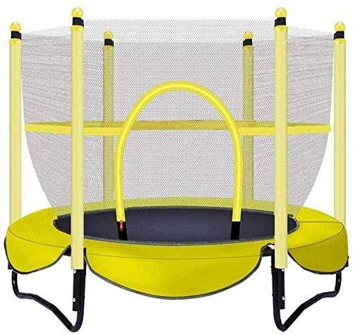 CLI Outdoor Für Kinder Mit Schutznetz Trampolin 100 Kg Internes Springbett Gelb