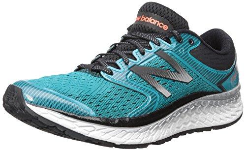 New Balance Men's Fresh Foam 1080 V7 Running Shoe, Pisces/Black, 10.5 D US