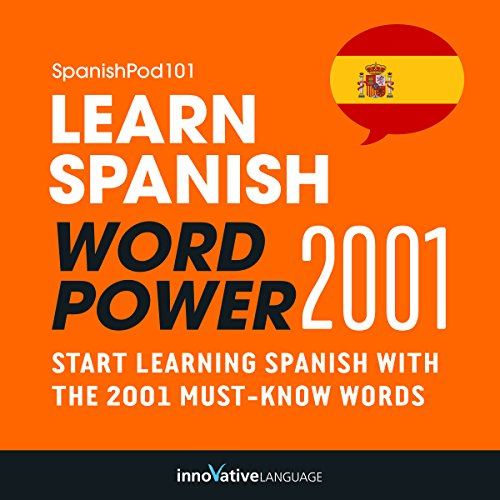 Learn Spanish - Word Power 2001 audiobook cover art