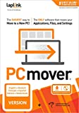 Laplink PCmover Professional 11 | Moves your Applications, Files and Settings from an Old PC to a New PC | Includes Optional Ethernet Cable | 1 Use