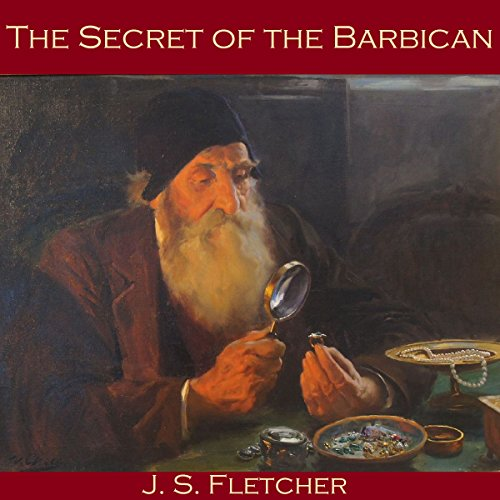 The Secret of the Barbican audiobook cover art