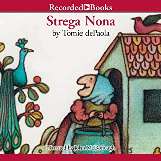 Strega Nona                   By:                                                                                                                                 Tomie dePaola                               Narrated by:                                                                                                                                 John McDonough                      Length: 13 mins     9 ratings     Overall 4.4