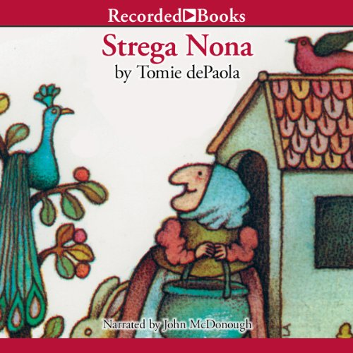 Strega Nona audiobook cover art