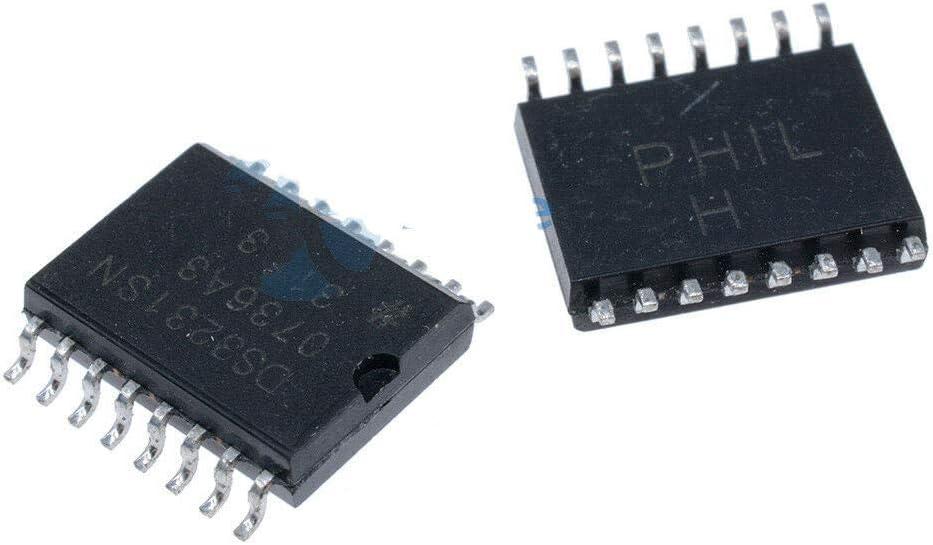 2Pcs DS3231SN 3231 IC RTC W/TCXO 16-SOIC