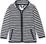 Fleece-Jacke maritim