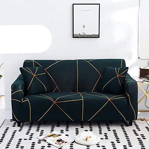 KKDIY Sofabezug Elastic Sofa Schonbezüge Sofabezüge für Wohnzimmer Sofa Sitzbezug Sofa Handtuchbezug Möbel Schonbezug-Farbe 15,2-Sitzer (145-185 cm), Russische Föderation