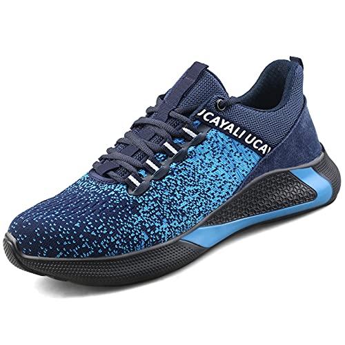 UCAYALI Zapatillas de Seguridad Hombre Clase de protección Azul/Negro Talla 43