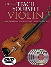 Step One: Teach Yourself Violin Course: A Complete Learning System Book/3 CDs/DVD Pack by Antoine Silverman (Mar 1 2004)