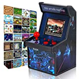 RUIER Mini Arcade Machine Home Handheld Video Game with 220 Built-in Games Real 16-bit HD Resolution Classic Portable Console Latest Upgraded System Valentines Day Gift for Him Boys Son