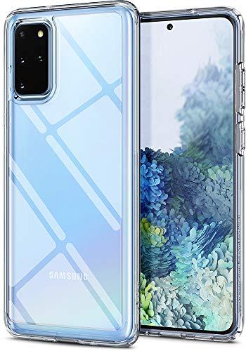 Spigen Ultra Hybrid Hülle Kompatibel mit Samsung Galaxy S20 Plus -Crystal Clear