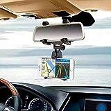 Vinciann Soporte espejo retrovisor coche universal para smartphone GPS navegador BKM