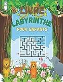 Livre Labyrinthe Pour Enfants: Labyrinthe livre de puzzles pour les enfants avec 60 labyrinthes | Des Labyrinthes d'animaux divertissants | Cahier labyrinthe enfant 5 6 7 8 ans