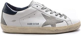 [ゴールデングース] GGDB [GOLDEN GOOSE DELUXE BRAND] メンズ スーパースター スニーカー レザー WHITE NAVY [並行輸入品]