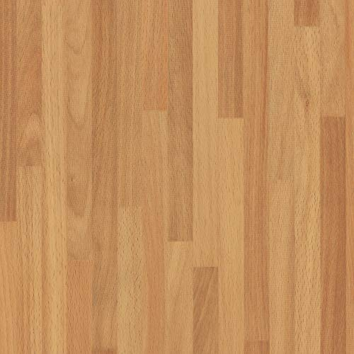 d-c-fix 346-0168 Decorative Self-Adhesive Film, Butcher Block, 17' x 78' Roll