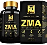 ZMA - Zinc and Magnesium with Added Vitamin B6 Supplements - Easy to